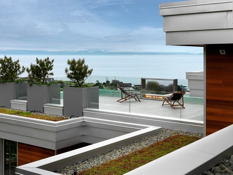 ringhiere per balconi vetro stile moderno