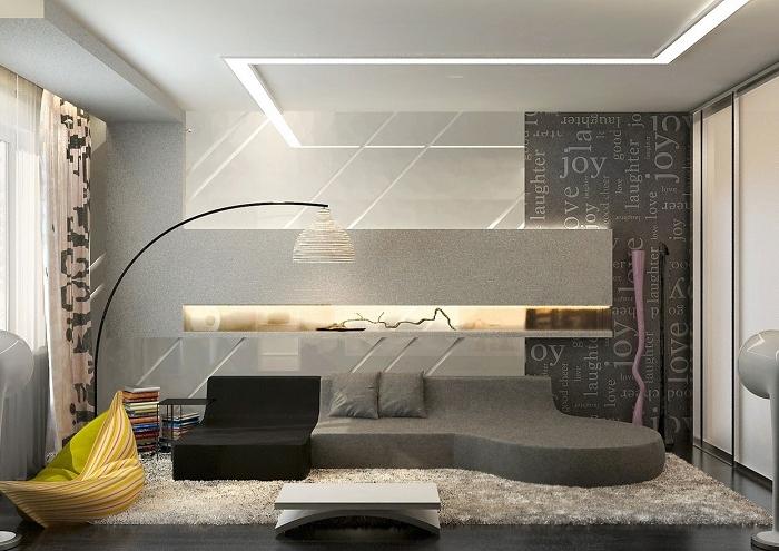 Divano Moderno A Semicerchio.Salone Moderno Proposte Imperdibili Per Un Ambiente Confortevole