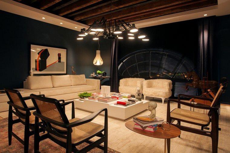 salotto moderno funzionale design contemporaneo