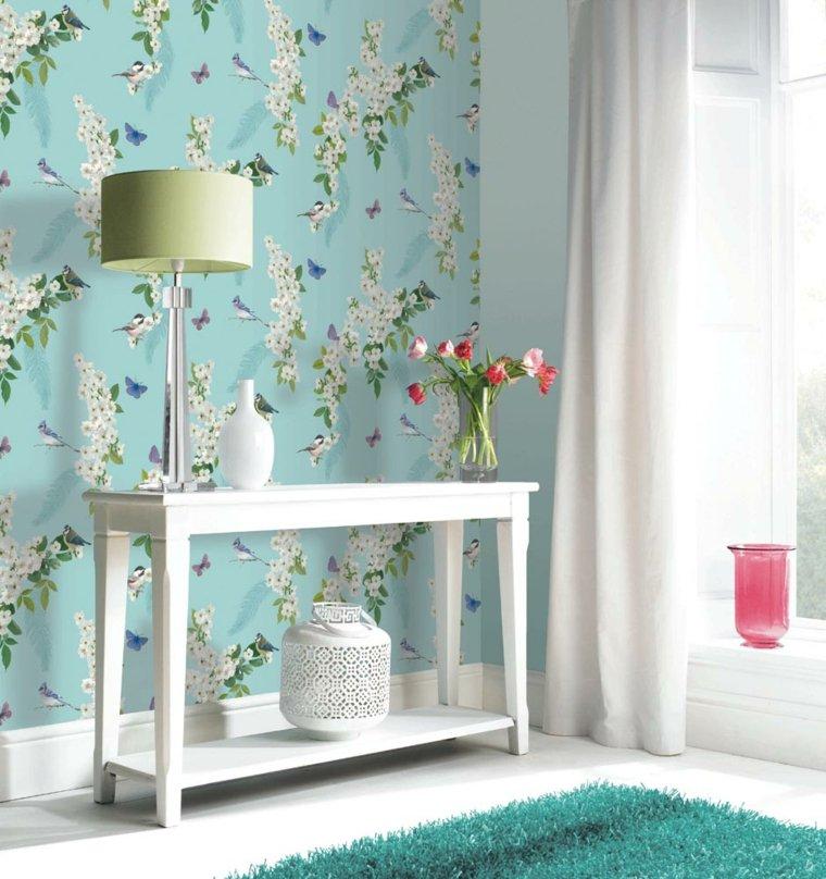 Carta da parati per arredare le pareti in soggiorno for Carta da parati moderna per soggiorno