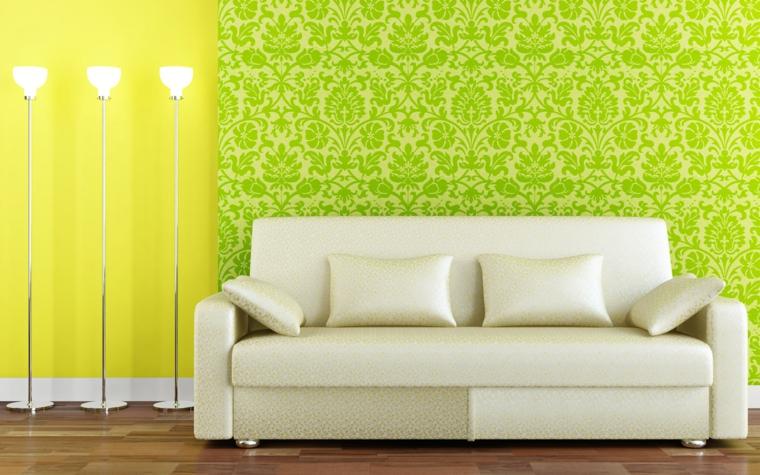 Mobile Decorati Con Carta Da Parati : Carta da parati per arredare le pareti in soggiorno tantissime
