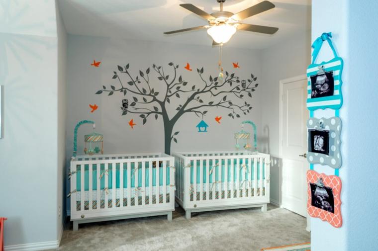 Decorare Pareti Cameretta Bambini : Cameretta bambini idee decorazioni tinta parete camera da