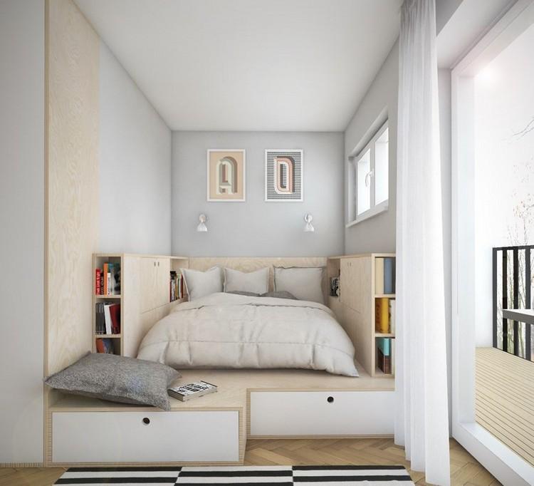 Stanze da letto 12 idee funzionali per uno spazio piccolo - Stanze da letto moderne ...