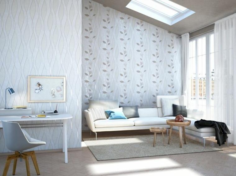 Carta Da Parati Per Soggiorno Classico : Carta da parati per arredare le pareti in soggiorno tantissime