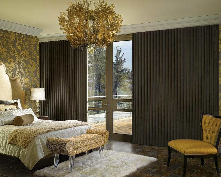 Tende camera da letto: proposte di tendenza per arredare con stile ...