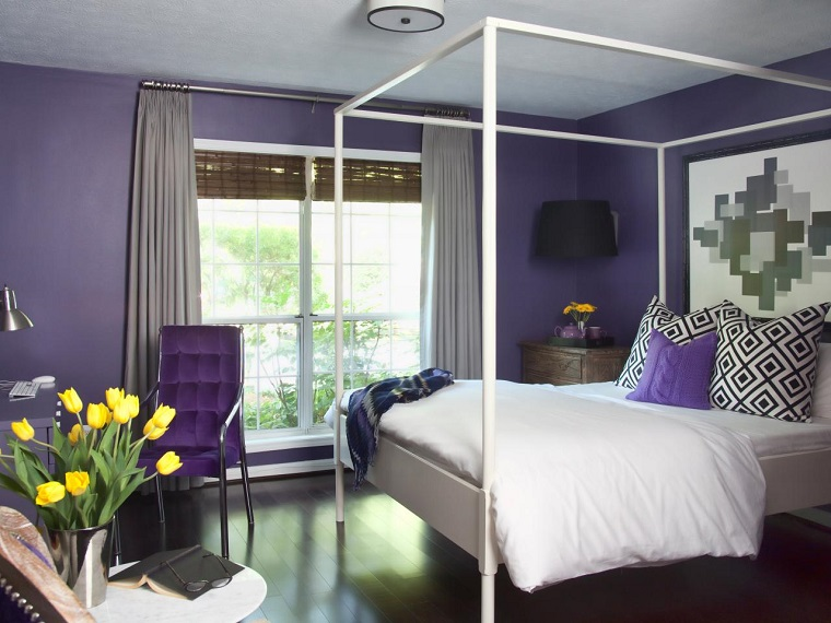 Tende camera da letto: proposte di tendenza per arredare con ...