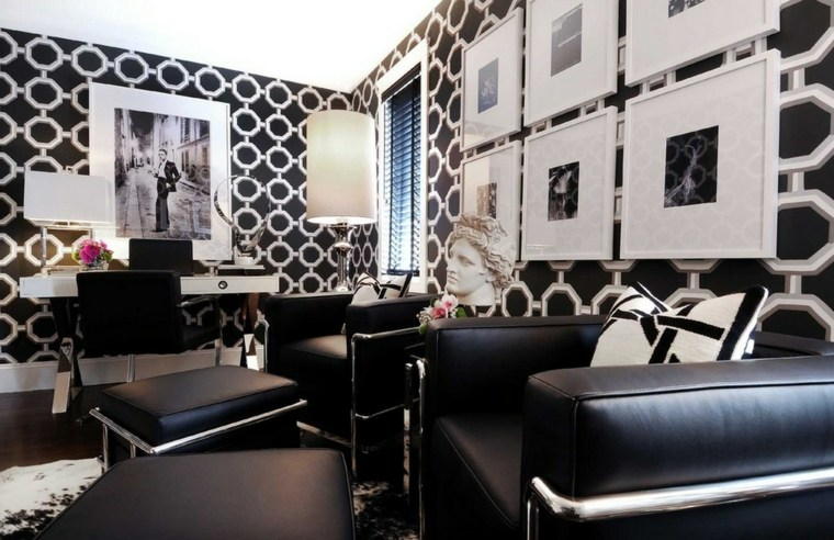 teppezzeria lussuosa soggiorno effetto glamour