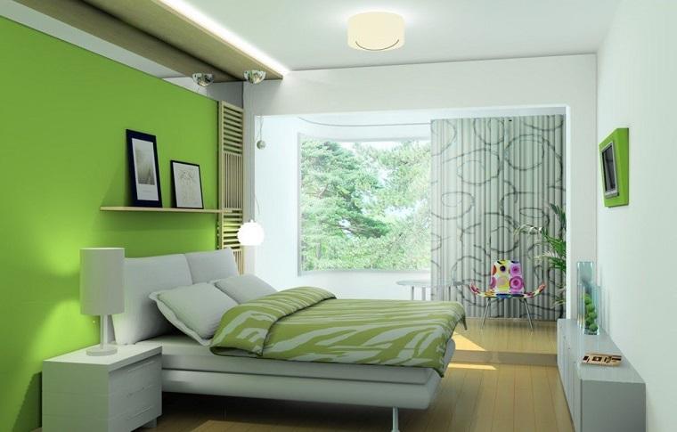 tocco colore vivace verde ideale