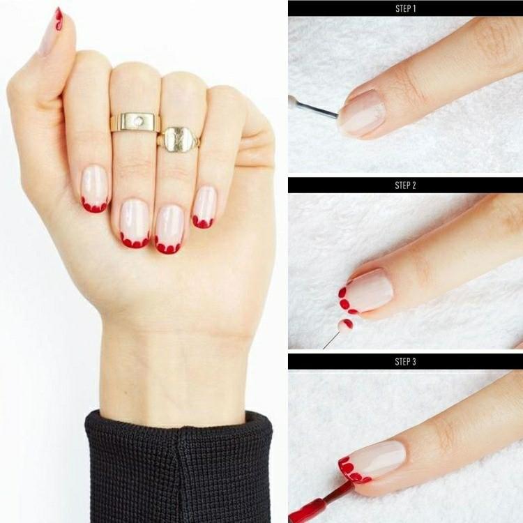 unghie nail art fai te tema natalizio