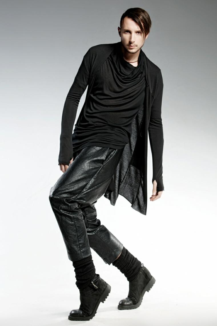 uomo abbigliamento particolare originale moderno