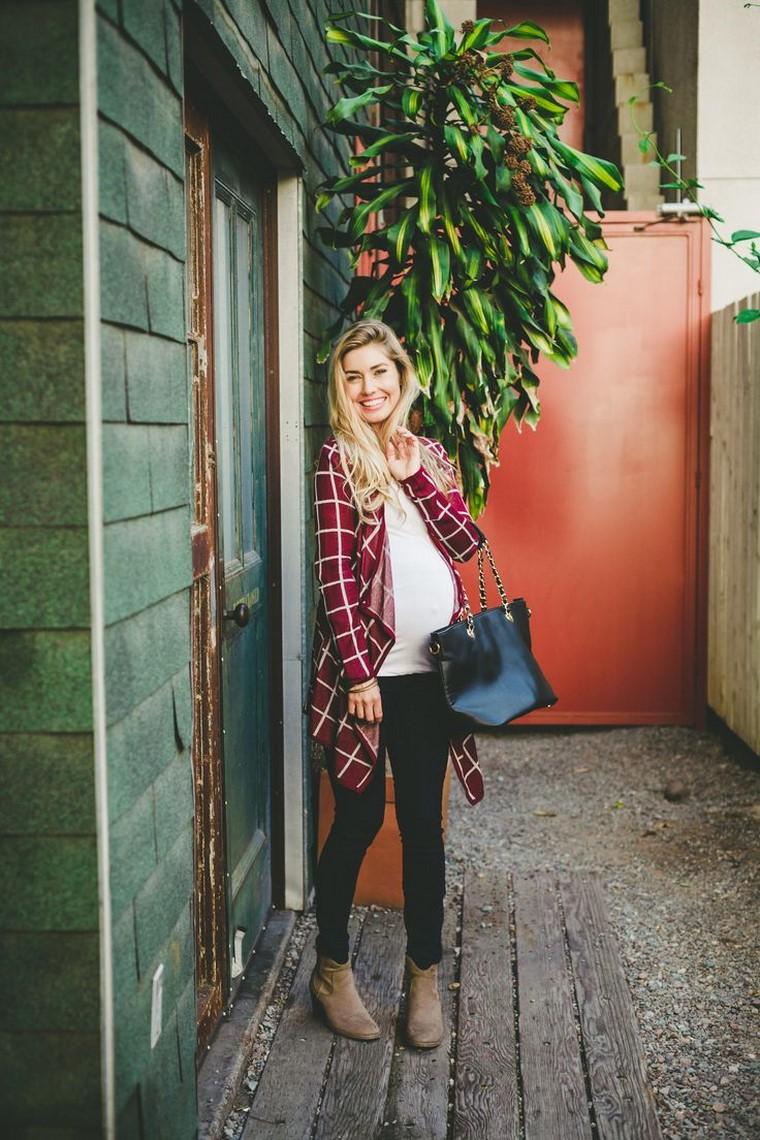 vestiti premaman donne incinte inverno