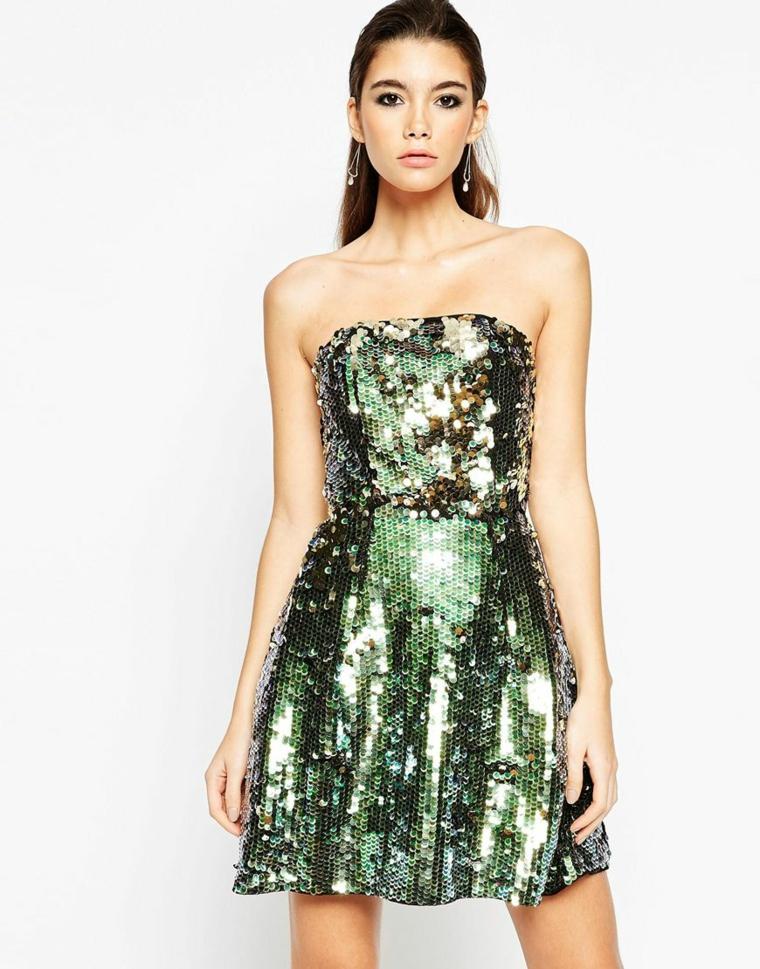 vestito glamour scintillante particolare festa