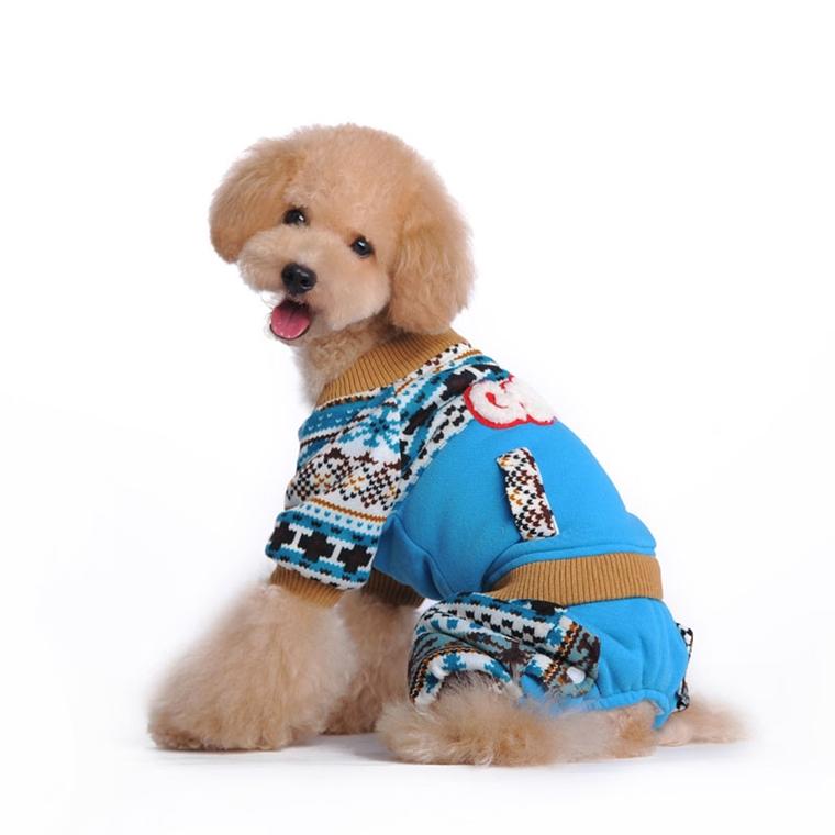 abbigliemanto per cani invernale realizzato mano