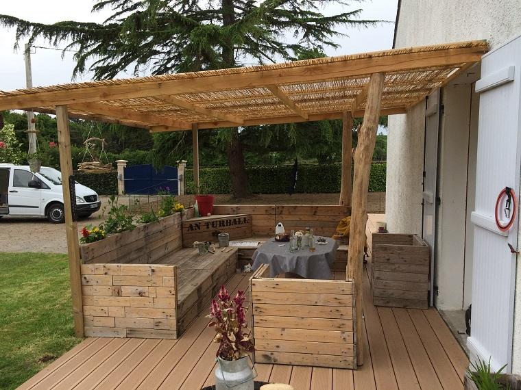 accessori giardino patio mobili pallet
