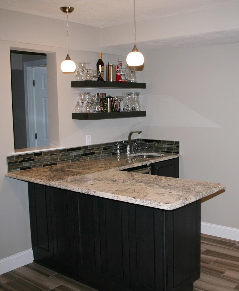 Mobile bar 18 proposte dal rustico al moderno per creare un 39 area bar in casa - Angolo bar per casa ...