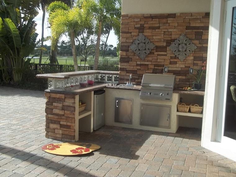 Cucine In Muratura Tante Soluzioni Moderne E Funzionali Of ...