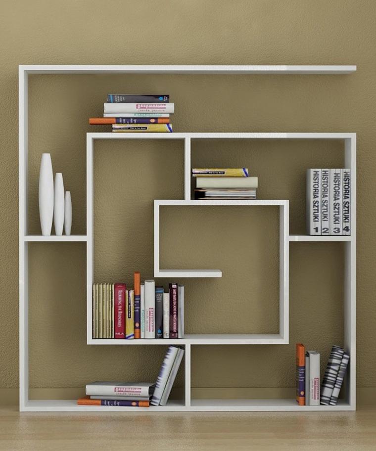 arredamento casa ripiani organizzati splendida libreria soggiorno