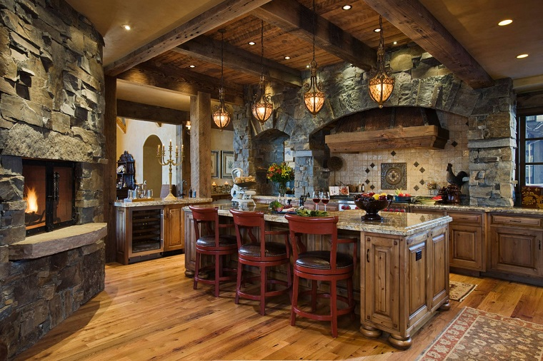 Beautiful Cucina Rustica In Pietra Photos - Ideas & Design 2017 ...