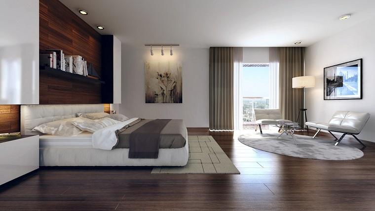 arredamento fai da te camera letto inserti legno