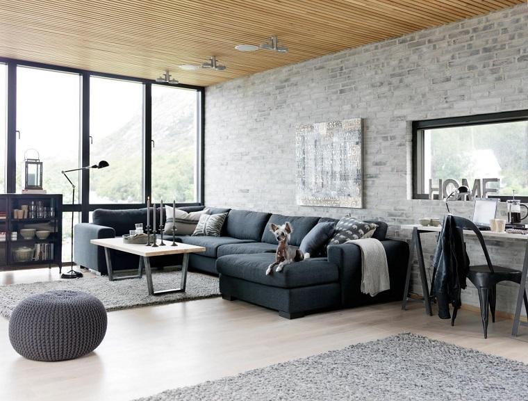 arredamento fai da te soggiorno design industriale moderno