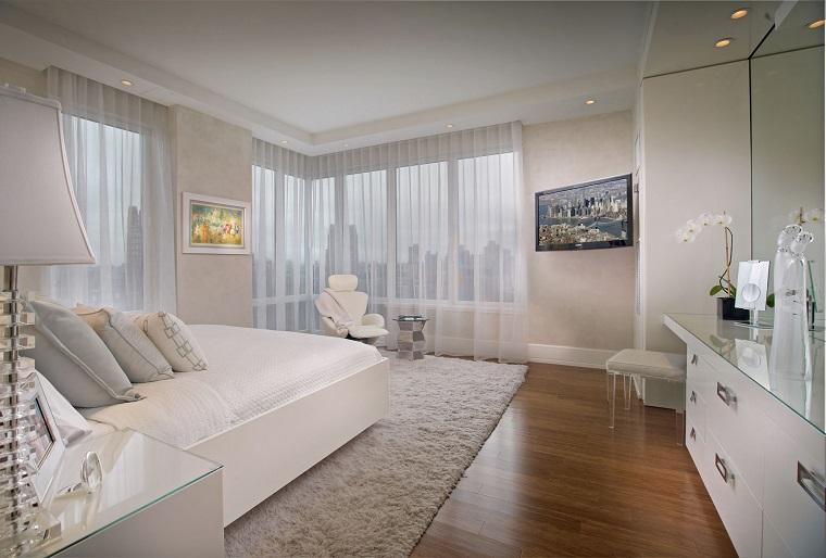 arredamento mobili camera letto colore bianco