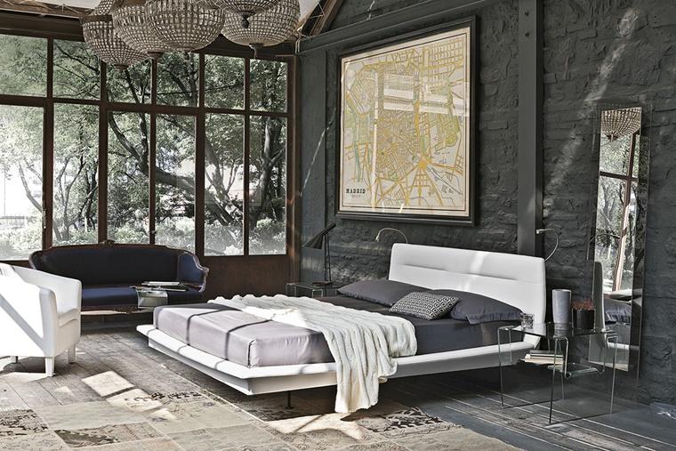 arredamento moderno camera letto varie decorazioni