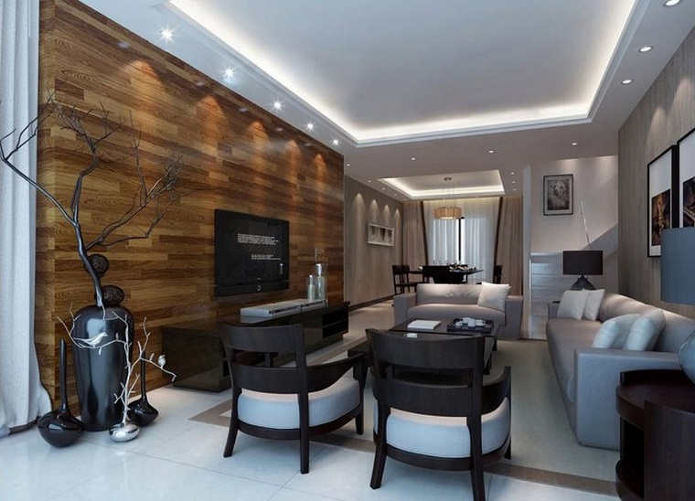 Come arredare un soggiorno con differenti stili e design - Arredamento parete soggiorno ...