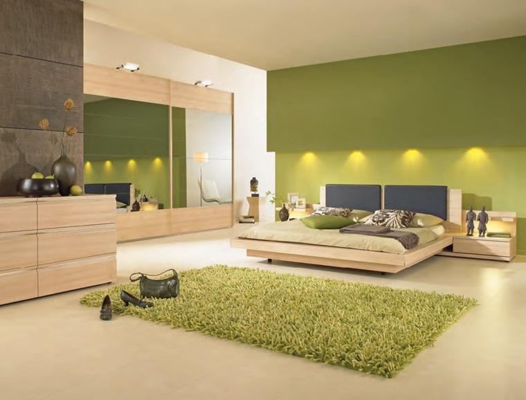 arredare camera da letto mobili legno