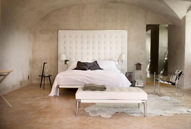 arredare camera da letto mobili moderni ambiente stile country