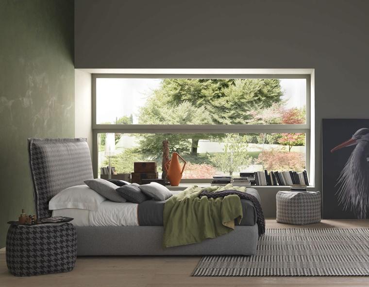 arredare camera da letto mobili realizzati mano tessuto