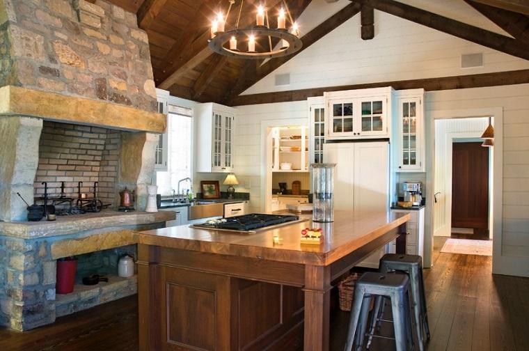 Cucine in muratura rustiche: idee per la casa in campagna ...