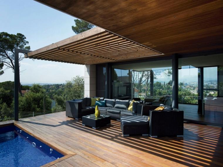Arredare il terrazzo con mobili moderni per un outdoor da ...