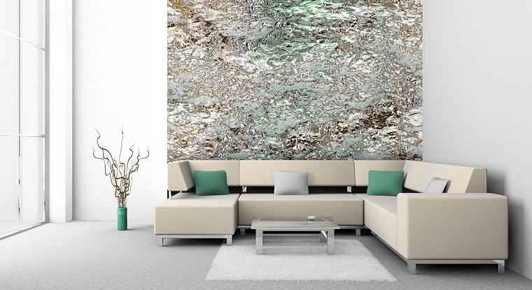Arredare salotto in stile moderno con idee e suggerimenti for Arredare parete