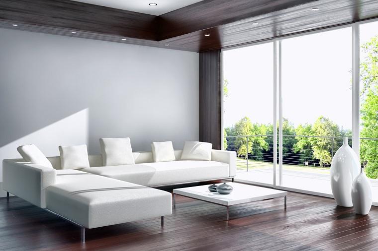 Arredare salotto in stile moderno con idee e suggerimenti for Divano minimal