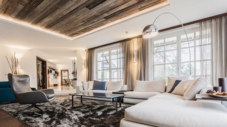 Salotto In Stile Moderno Con Parquet Interior Design : Arredare salotto in stile moderno con idee e suggerimenti