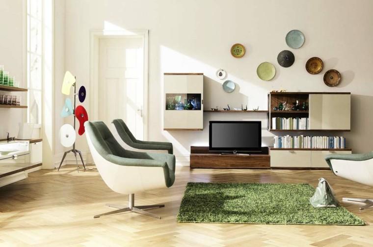 Salotto Stile Moderno Con Divano Pelle Camino E Tappeto Interior Design : Arredare salotto in stile moderno con idee e suggerimenti