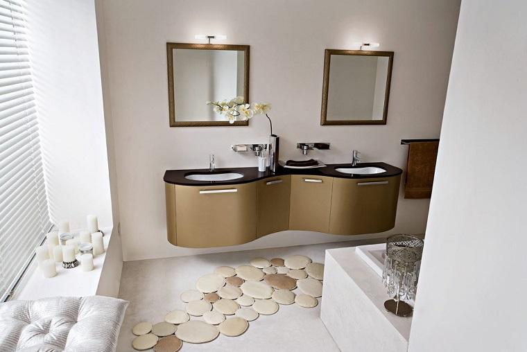 arredo bagno moderno doppio lavabo