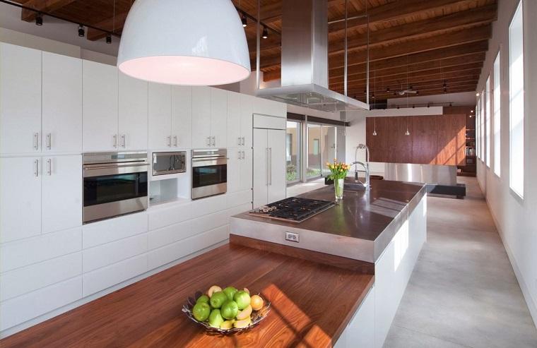 arredo cucina bianca design moderno