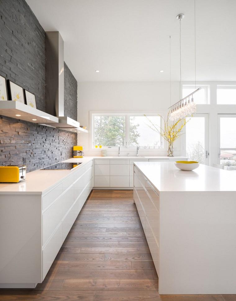 arredo cucina isola centrale design moderno