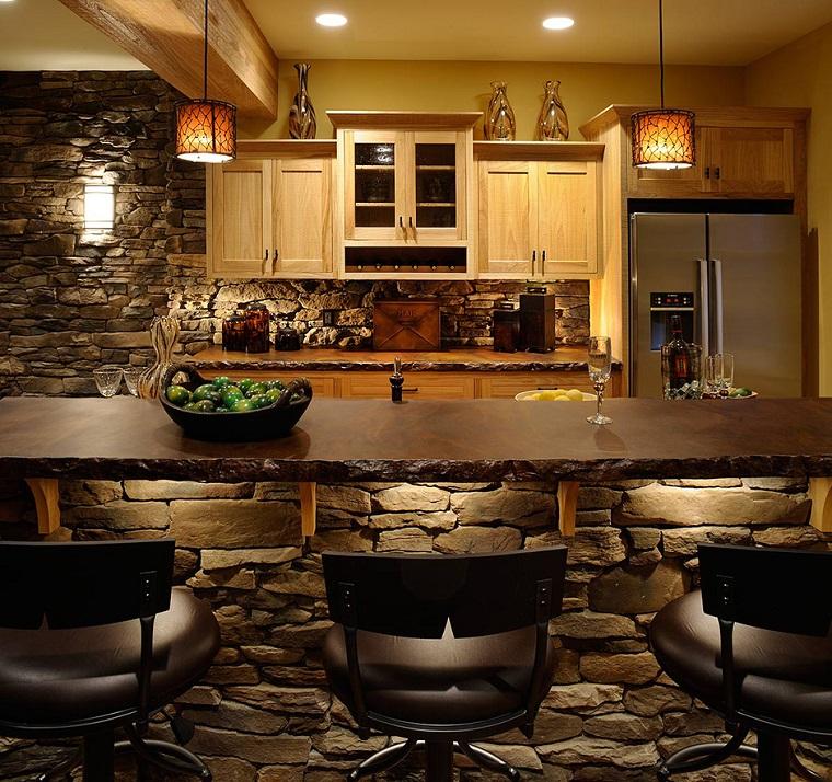 Cucine in muratura rustiche idee per la casa in campagna for Cucina idee arredo