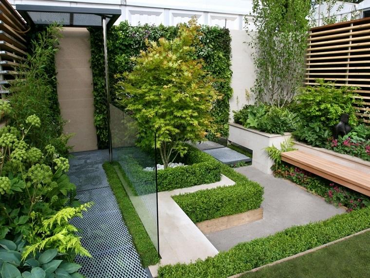 Piccoli giardini come decorare un 39 area esterna di - Piccolo giardino zen ...