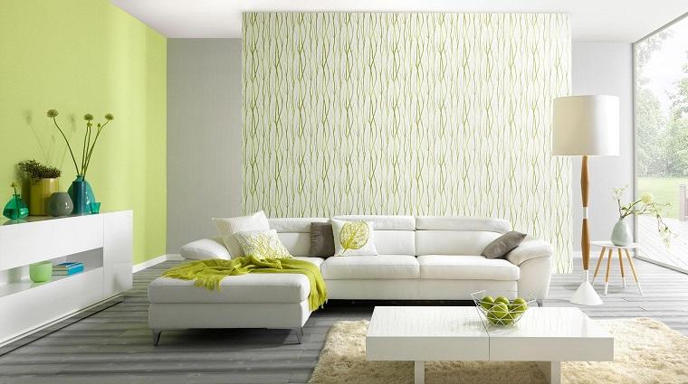 Salotto Moderno Verde : Arredare salotto in stile moderno con idee e suggerimenti di