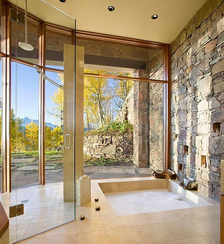 bagni in muratura splendida doccia