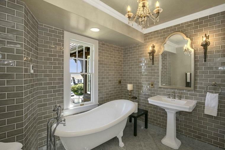bagni in muratura tonalita grigio