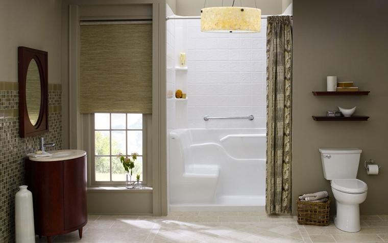 Bagno piccolo piccoli accorgimenti per sfruttare al meglio lo spazio - Mobili salvaspazio bagno ...