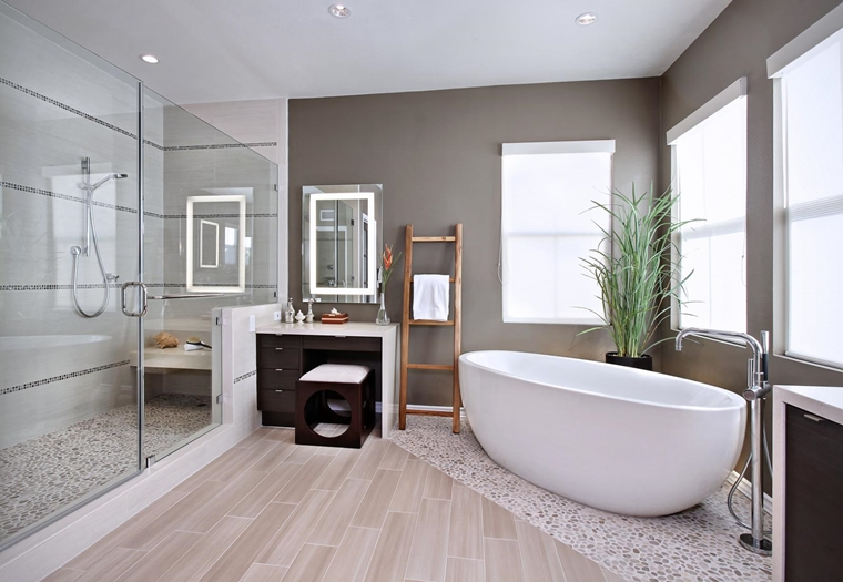 bagno piccolo vasca bagno box doccia vetro