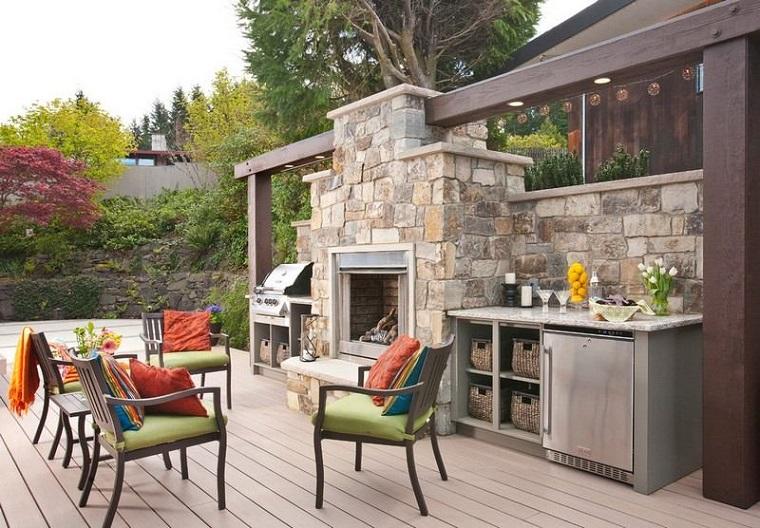 barbecue in muratura proposta particolare giardino