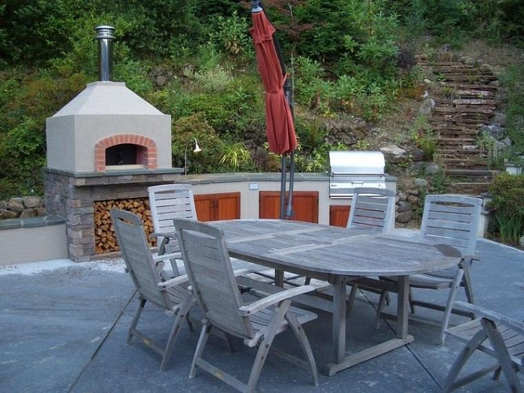 barbecue muratura suggerimento originale outdoor