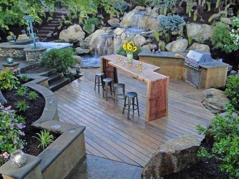 barbecue semplice originale idea outdoor particolare