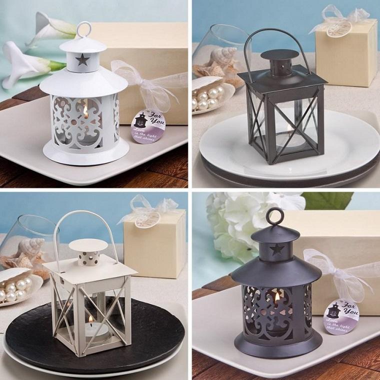 bomboniera per matrimonio lanterne decorate